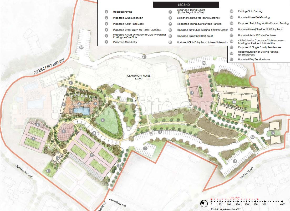 Claremont Club Expansion Plans