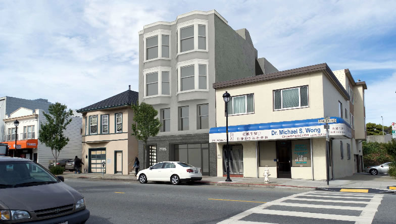 2785 San Bruno Avenue Rendering