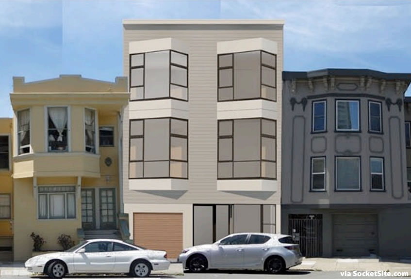 2815 Polk Street Rendering Front