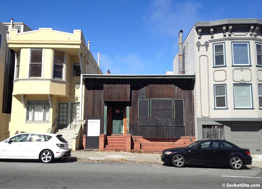 Polk Street Holdout Home Poised for Redevelopment