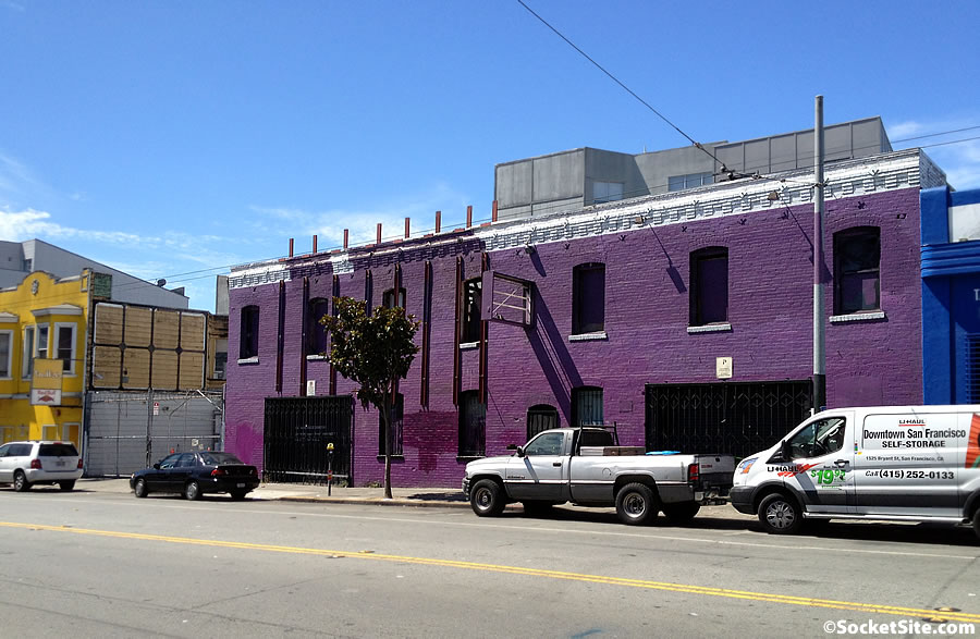 Purple Building's Days are Numbered, Tech Space to Rise