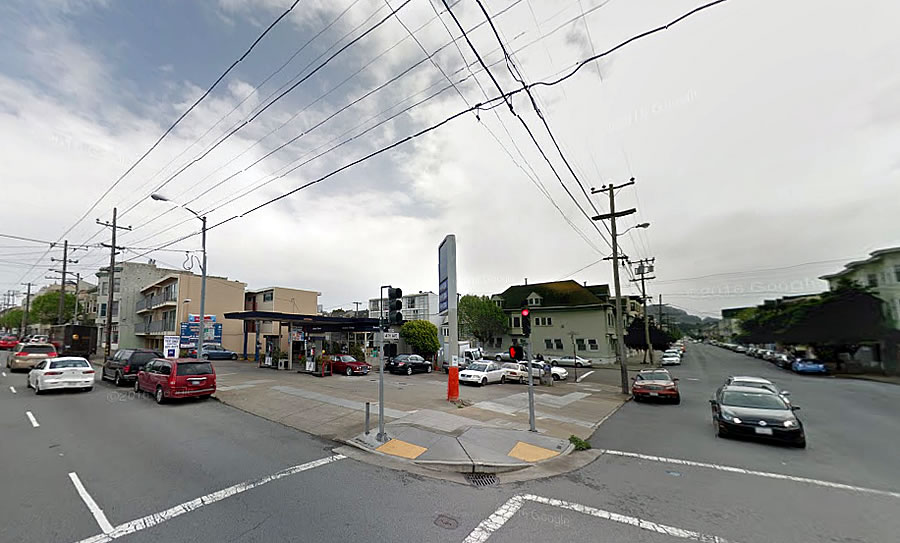 Inner Richmond Infill and One Less Service Station as Proposed