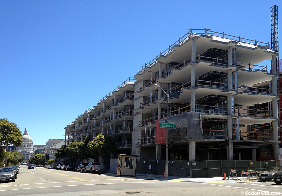 Hayes Valley Development Grinds to a Halt, Here's Why