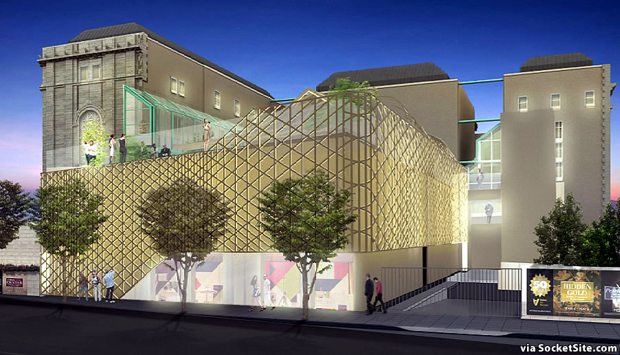 Asian Art Museum Expansion Rendering