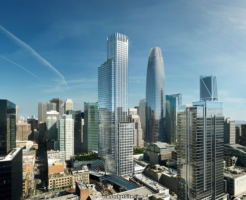 The First Renderings for San Francisco's Last Super-Tall Tower Site