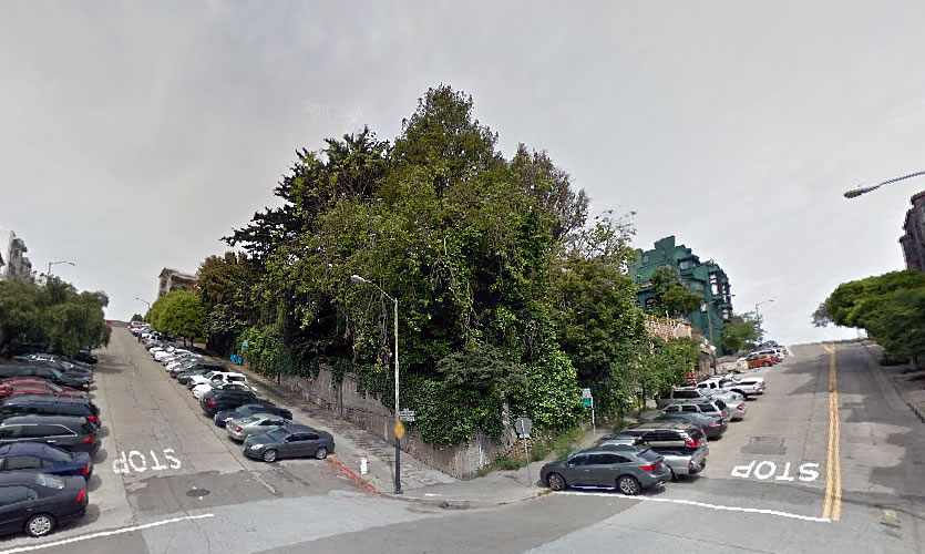 Big Plans for This Verdant Russian Hill Parcel Are Back in Play