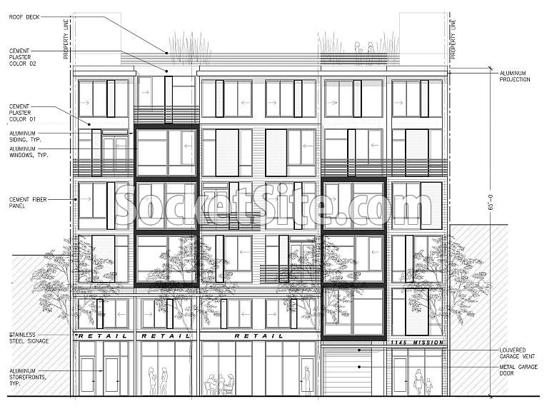 1145 Mission Street Design circa 2009