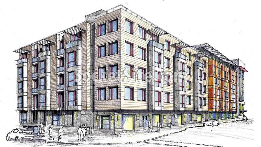 1515 South Van Ness Rendering Refined: Shotwell