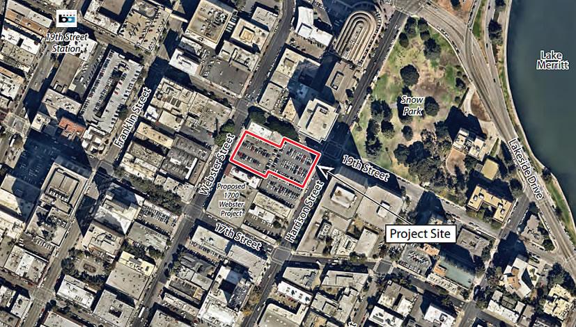 1810 Webster Street Oakland Site Aerial