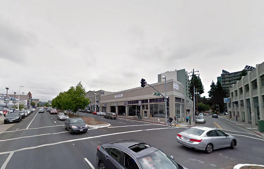 Plans for 218 Apartments and Retail on Oakland's Auto Row Progress