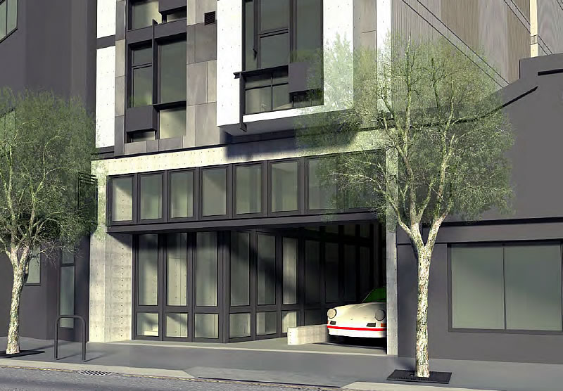 4128 Third Street Rendering Ground Floor