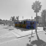 Plans for a Modern Burger Shack to Serve Bayview's Mendell Plaza