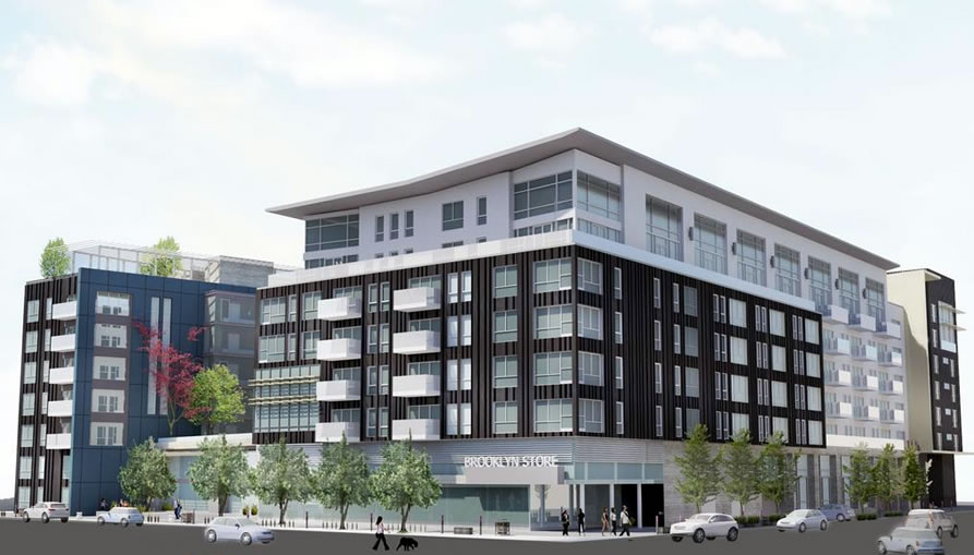 Brooklyn Basin Parcel B Rendering