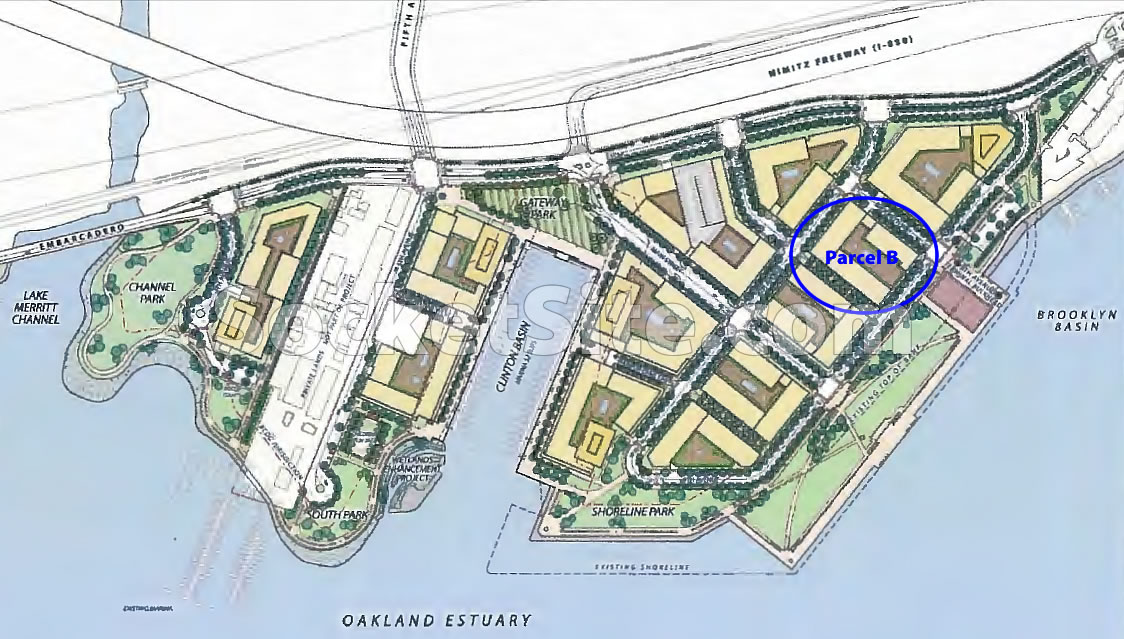 Brooklyn Basin Site Plan: Parcel B