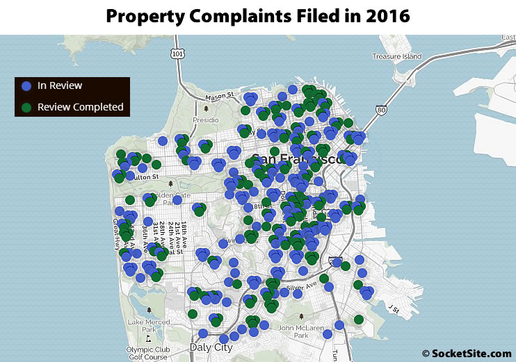 Property Complaints Filed in 2016