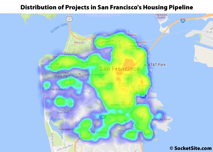Number of Apartments and Condos in SF's Pipeline Holds at 63K
