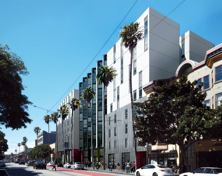 1950 Mission Street Rendering