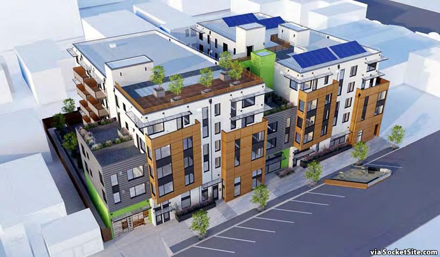 2035 Blake Street Rendering
