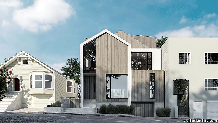 240 Chenery Rendering