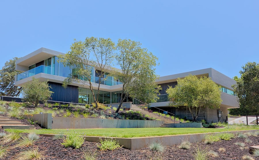 Now Asking a Million Less for a Modern Los Altos Hills Abode