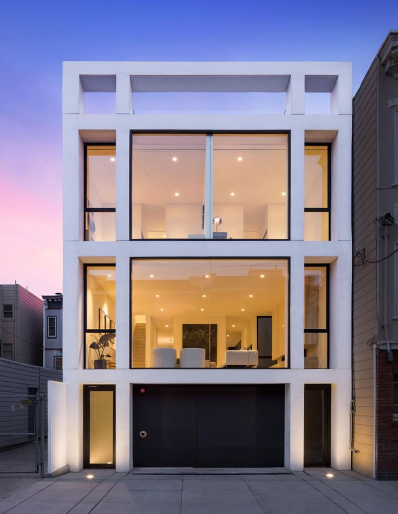 Million Dollar Cut for Modern Mission Dolores Statement Home