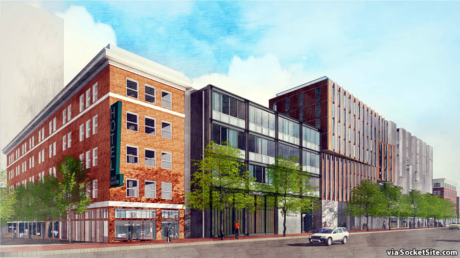 1629 Market Street Rendering: Market and 12th