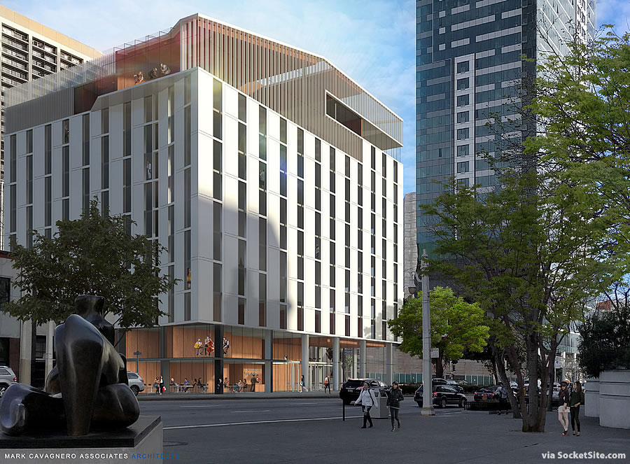 200 Van Ness Avenue Rendering
