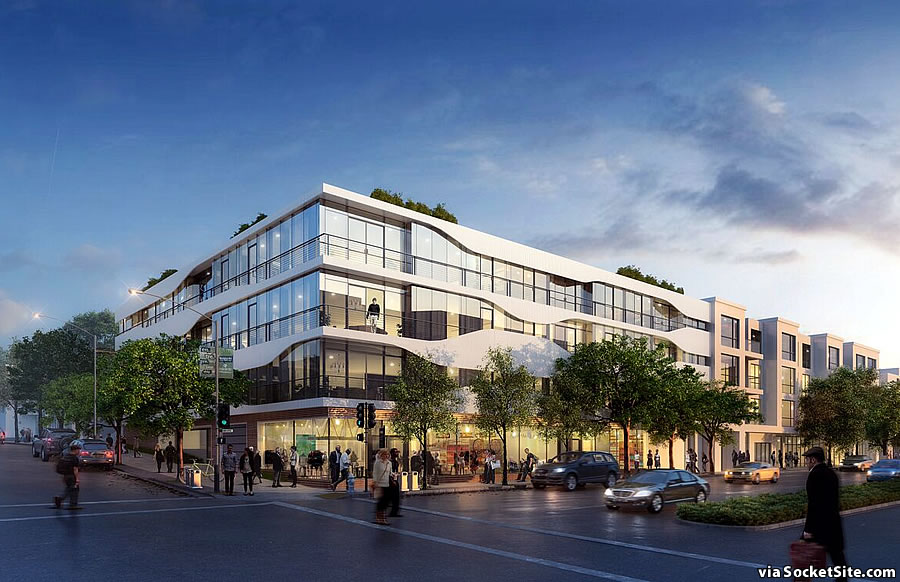Plans for Long-Vacant Lombard Street Site Now Closer to Reality
