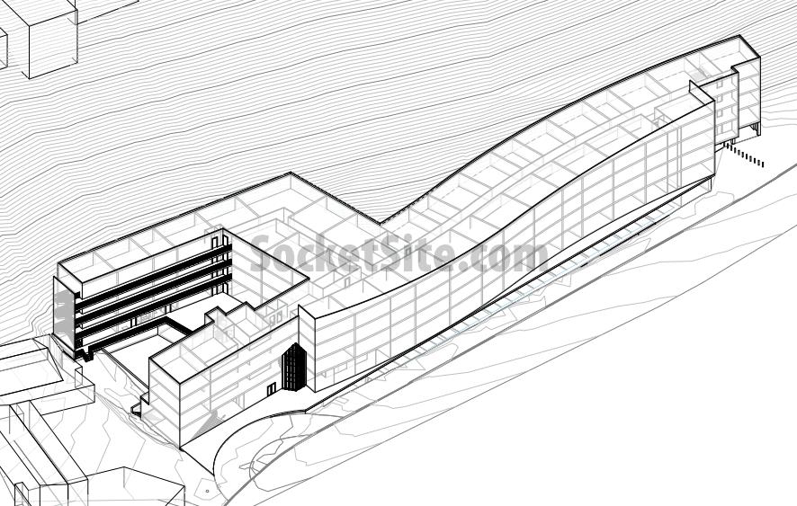250 Laguna Honda Site Plan