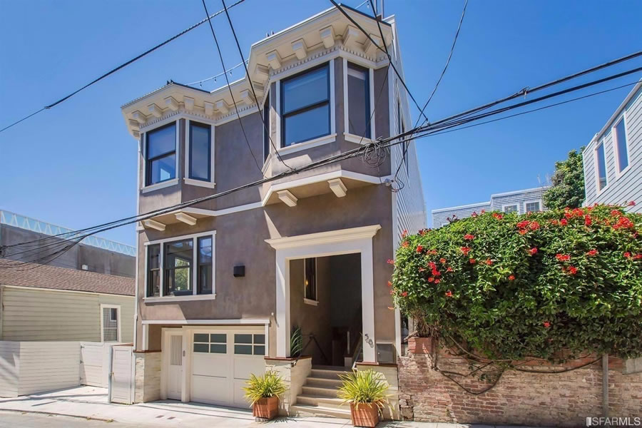 Up and Down in Lower Pacific Heights