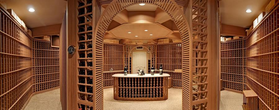 700 Kings Mountain Road Wine Cellar