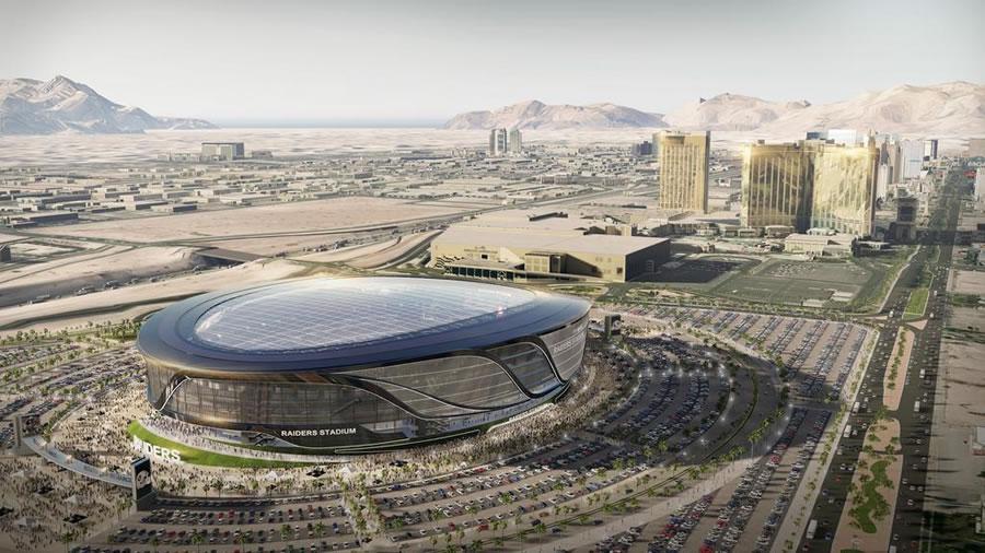 Las Vegas Stadium Rendering