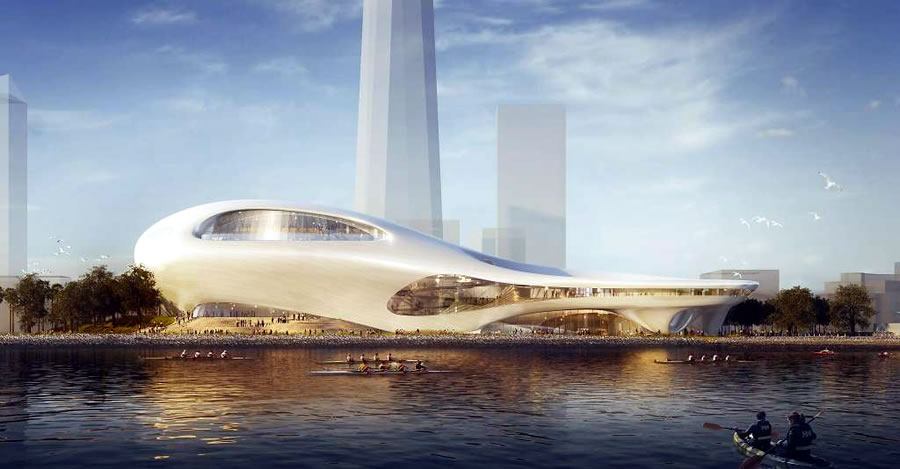 Lucas Museum of Narrative Art Rendering: Treasure Island