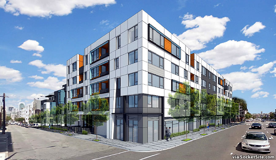 1298 Howard Street Rendering: Natoma and 9th