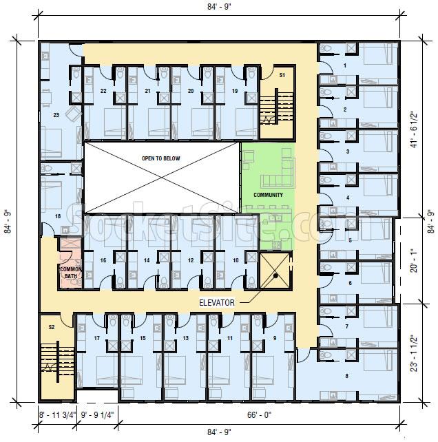 1500 15th Street Floor Plan
