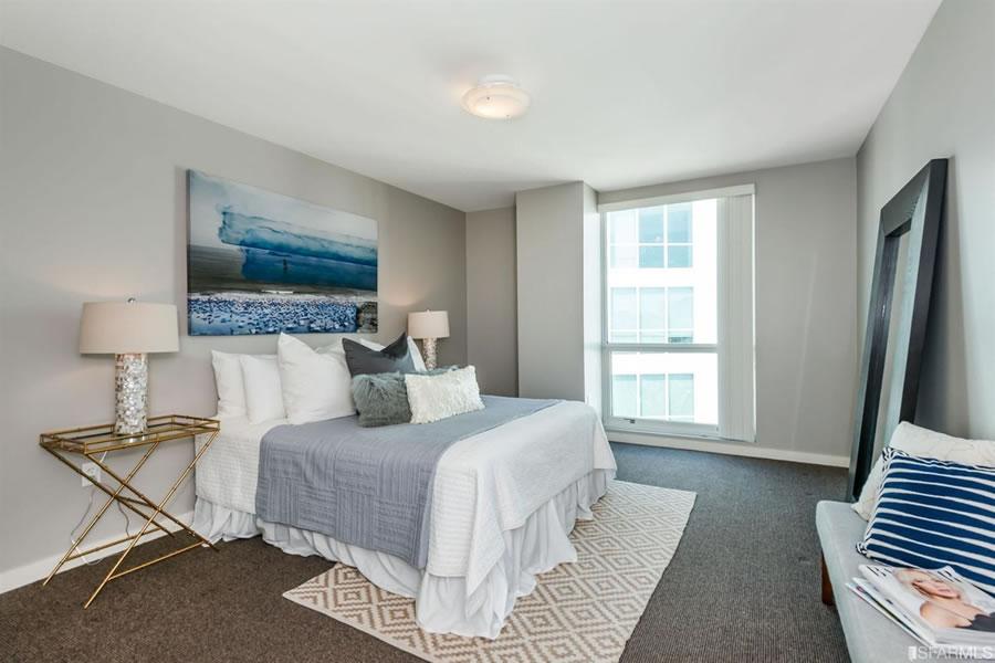555 4th Street #802 Bedroom