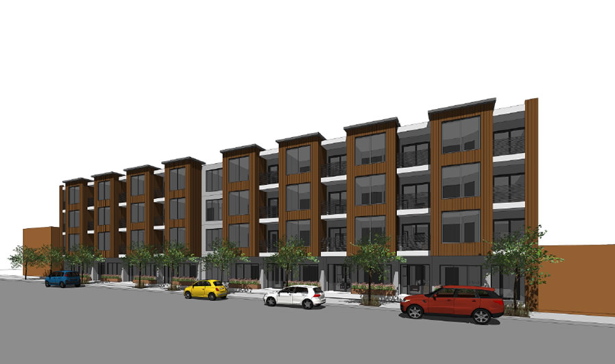915 Cayuga Avenue Rendering: Alemany