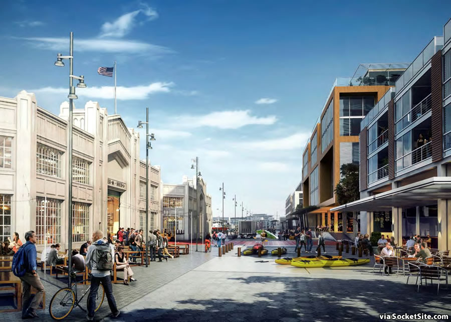Mission Rock Rendering: Terry Francois Boulevard