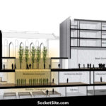 The Plans for a Modern Buddhist Temple and Dormitory on Van Ness