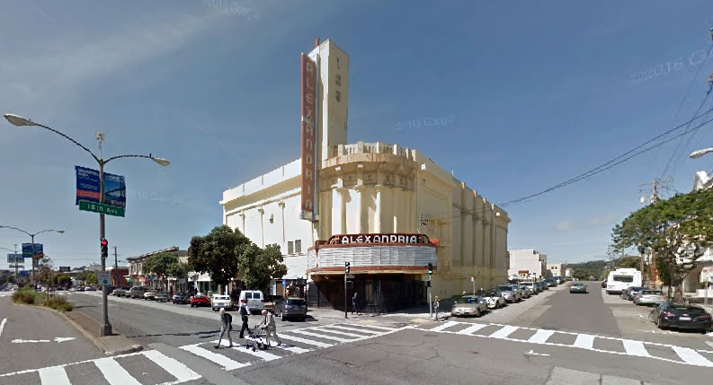 5400 Geary (Alexandria Theater)