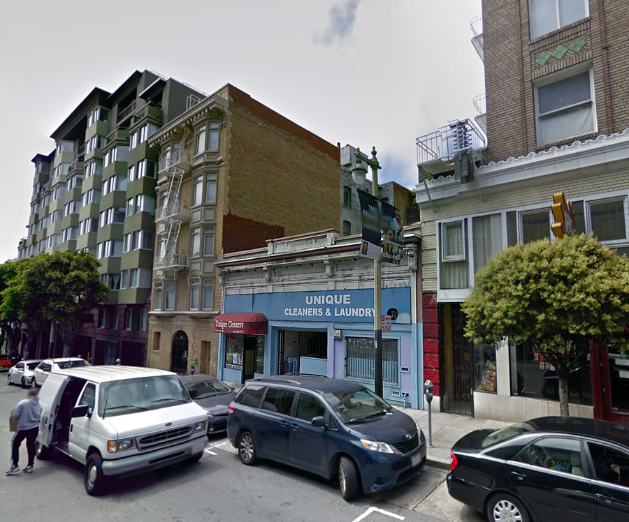 Cleaned Out of the Tenderloin for New Apartments to Rise