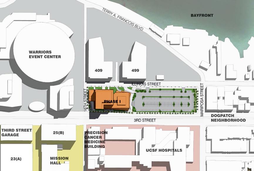 SocketSite™ | UCSF Getting Ready to Break New Ground in Mission Bay