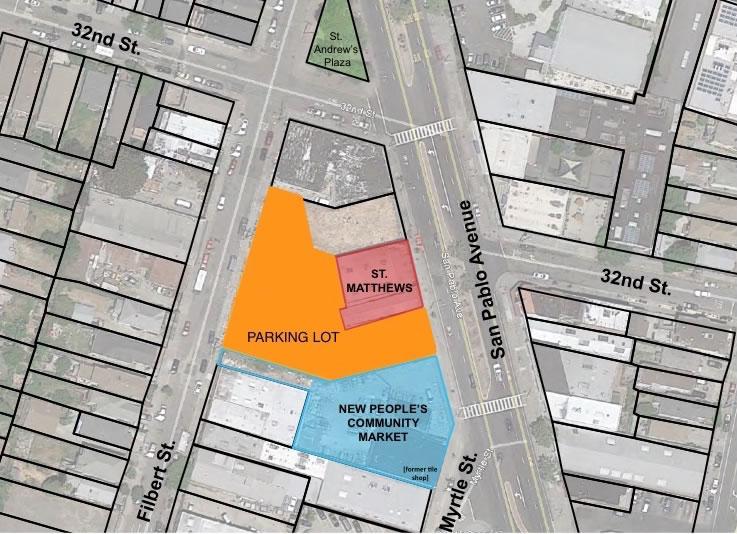 People's Community Market Site Plan