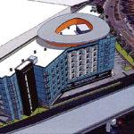 Plans for an Infill Mandela Hotel in Emeryville