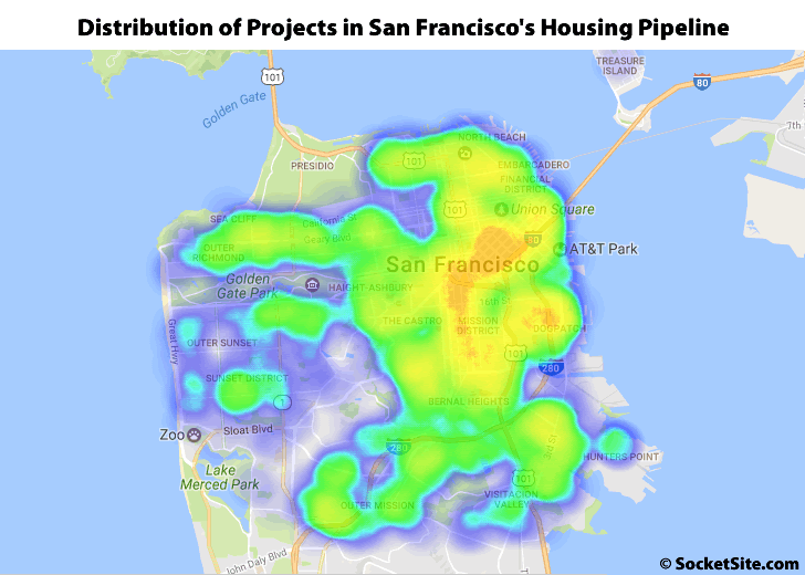 Pipeline of Residential Development in San Francisco Slips