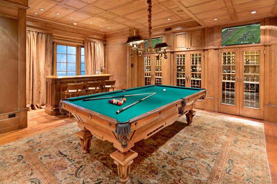 200 Polhemus Avenue - Wine and Billiards Room