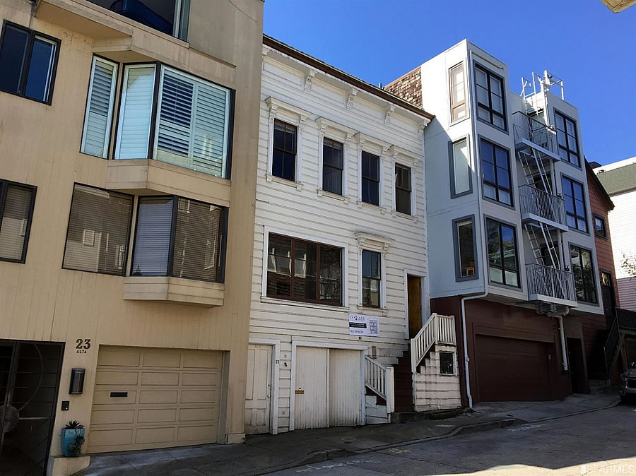 Crowdfunding Gone Wrong on Telegraph Hill
