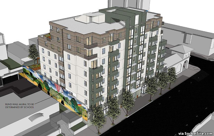 Bigger Plans for Mission District Lavanderia Parcel Proposed
