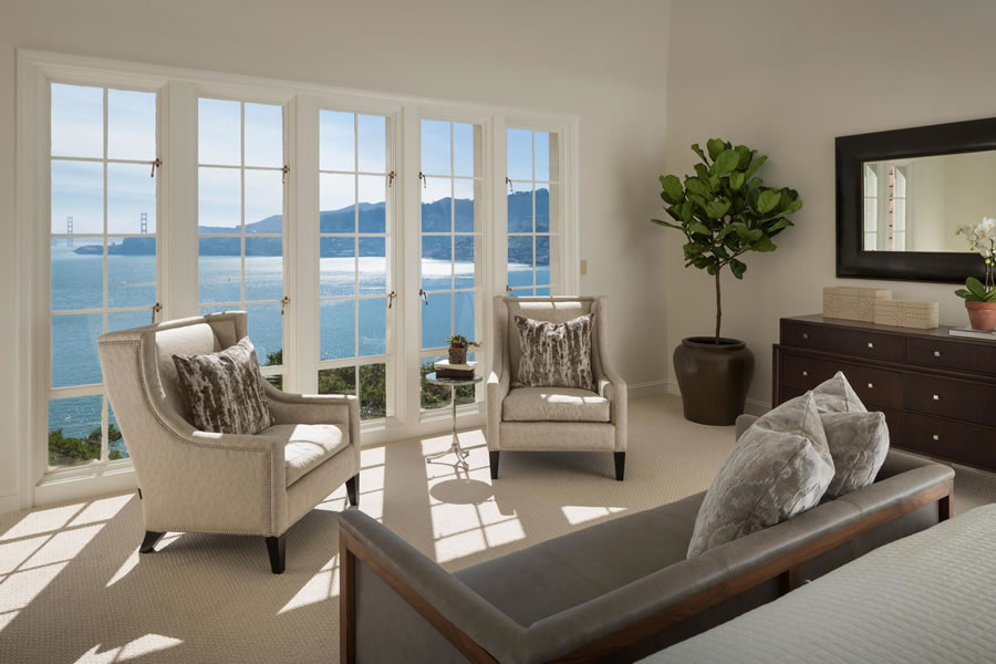 345 Golden Gate Belvedere - Master Bedroom