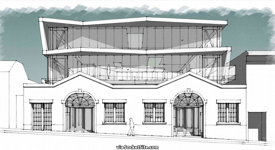 Plans to Transform the Former Volvo Shop on 16th